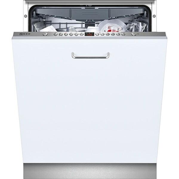 Masina de spalat vase incorporabila NEFF S513N60X3E, 14 seturi, 6 programe, 60 cm, Clasa A++, inox