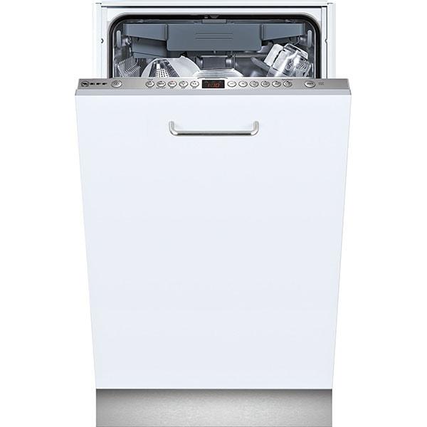 Masina de spalat vase incorporabila NEFF S583M50X0E, 10 seturi, 5 programe, 45 cm, Clasa A++, inox