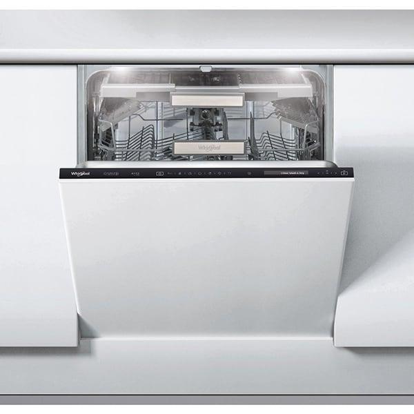 Masina de spalat vase incorporabila WHIRLPOOL WIF 4043 DLGT E, 6th Sense, 14 seturi, 11 programe, 60cm, Clasa A+++, negru
