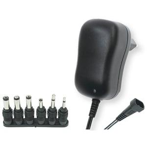Incarcator universal HOME MW 3K10, 1A, 3-12V, 6 mufe, negru
