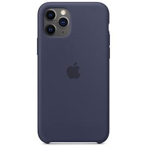 Carcasa APPLE pentru iPhone 11 Pro, MWYJ2ZM/A, silicon, Midnight Blue