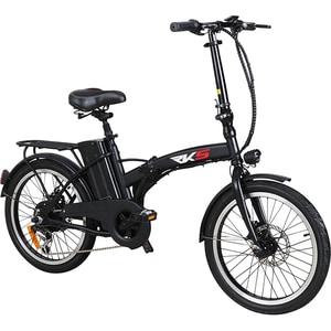 Bicicleta electrica pliabila RKS MX25, 20 inch, negru