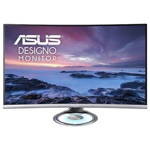 """Monitor curbat LED ASUS Designo Curve MX32VQ, 31.5"""", WQHD, 60Hz, Flicker Free, gri inchis"""
