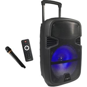 Boxa portabila cu microfon Wireless MYRIA MY2613, Bluetooth, USB, Radio FM, negru