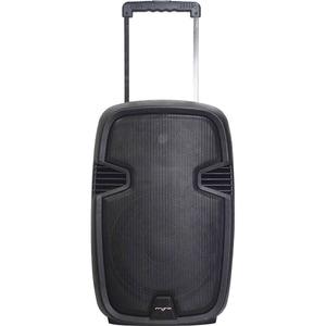 Boxa portabila cu microfon Wireless MYRIA MY2614, Bluetooth, USB, Radio FM, negru