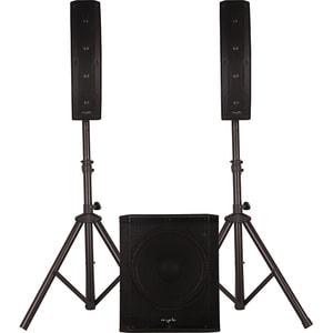 Sistem audio MYRIA MY2617, 300W RMS, Bluetooth, USB, FM, negru