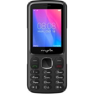 Telefon MYRIA Endless MY9074BK, 128MB RAM, 3G, Dual SIM, Black