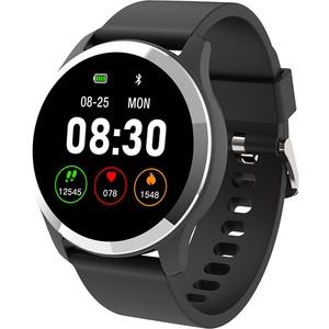 Smartwatch MYRIA MY9522BK, Android/iOS, negru
