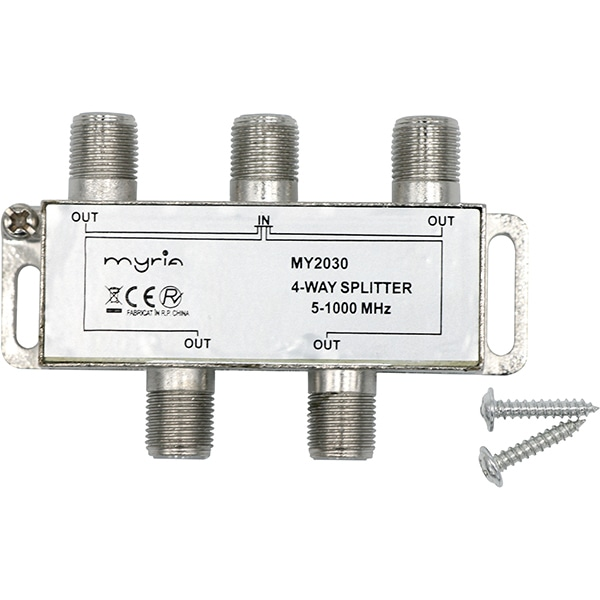 Splitter CATV 4 iesiri MYRIA MY2030