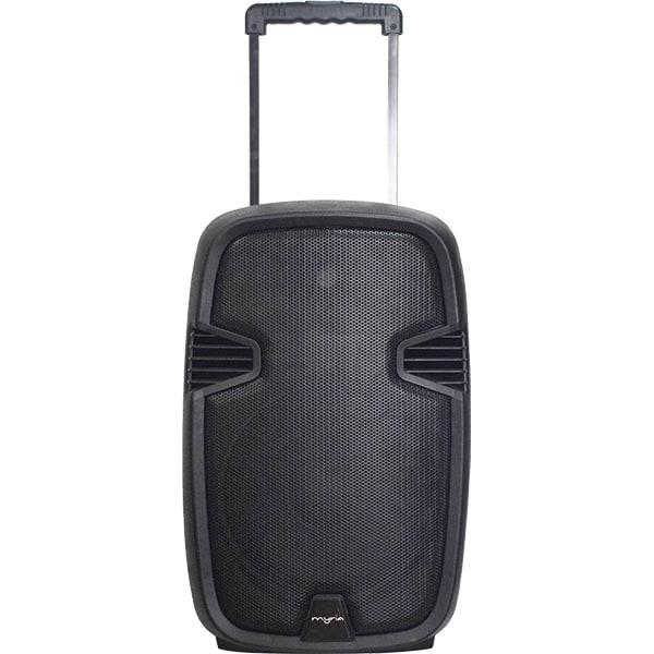 Boxa portabila cu microfon Wireless MYRIA MY2621, Bluetooth, USB, Radio FM, negru