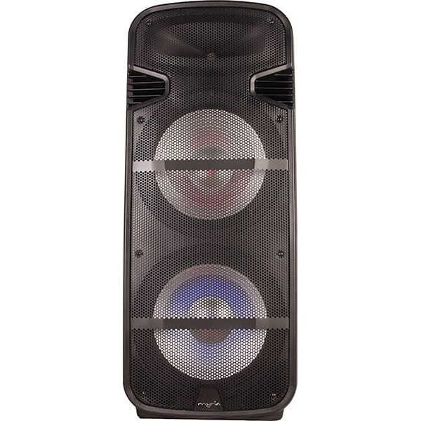 Sistem audio MYRIA MY2618, 50W RMS, Bluetooth, Radio FM, negru