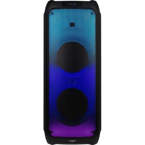 Boxa portabila MYRIA MY2619, 50W RMS, Bluetooth, Radio FM, negru