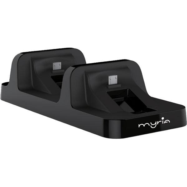 Statie dubla de incarcare MYRIA pentru controller PS4