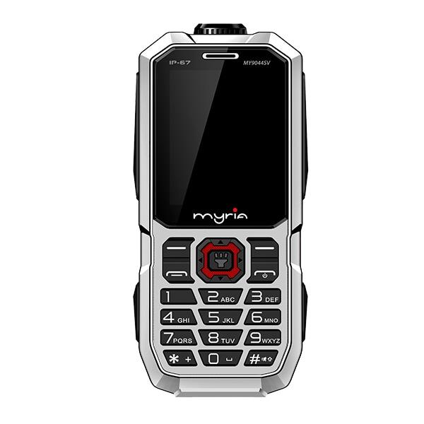 Telefon MYRIA Enduro MY9044SV, 32MB RAM, 2G, Dual SIM, Silver