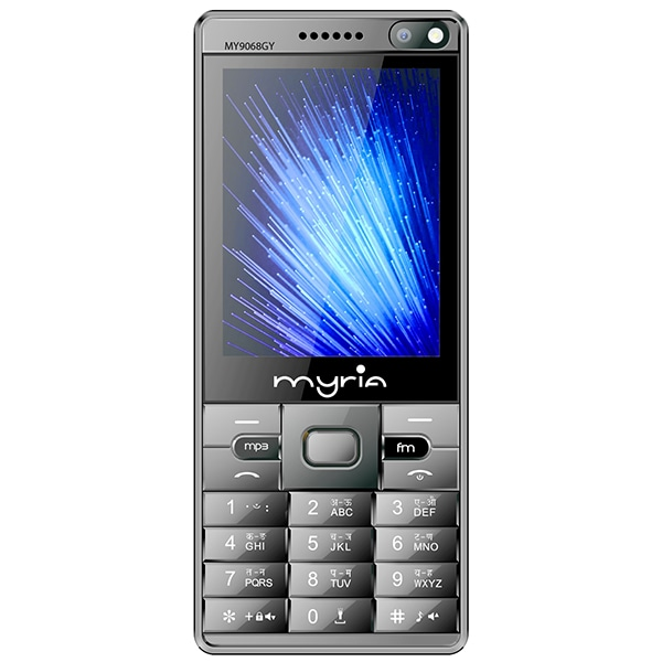 Telefon MYRIA Endless Power Y1 MY9068GY, 32MB RAM, 2G, Dual SIM, Gray