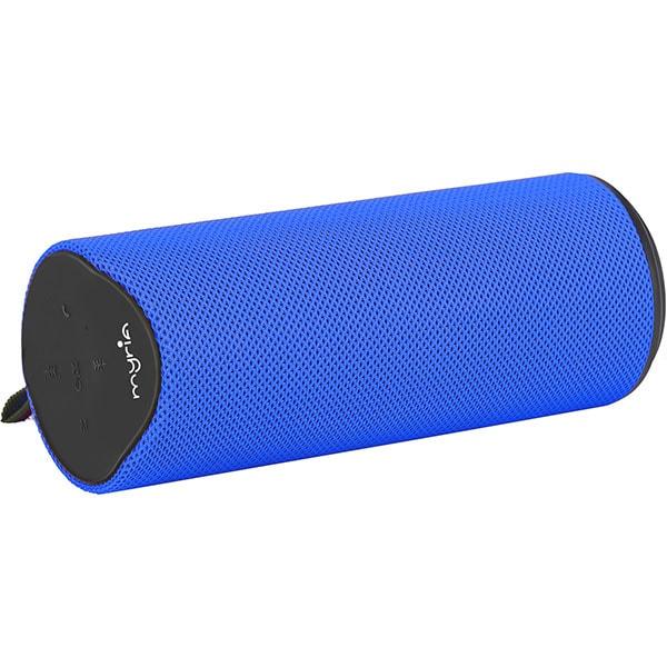 Boxa portabila MYRIA MY9086, Bluetooth, MicroSD, Radio FM, albastru