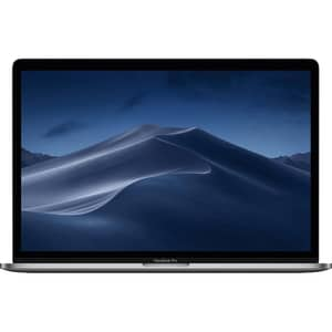 "Laptop APPLE MacBook Pro 15"" Retina Display si Touch Bar mv912ze/a, Intel Core i9 pana la 4.8GHz, 16GB, 512GB, AMD Radeon Pro 560X 4GB, macOS Mojave, Space Gray - Tastatura layout INT"