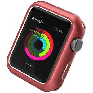 Carcasa pentru Apple Watch 44mm, PROMATE Magnex-44, aluminiu, rosu
