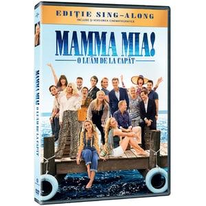 Mamma Mia! O luam de la capat DVD
