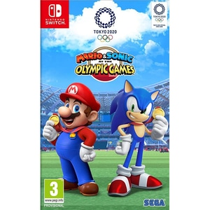Mario & Sonic At The Tokyo Olympics Games 2020 Nintendo Switch
