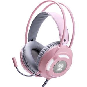 Casti Gaming Marvo HG8936, Stereo, USB, 3.5mm, roz