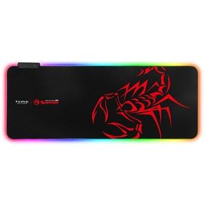 Mouse Pad Gaming MARVO MG-10, RGB, marime XL, negru-rosu
