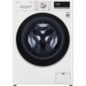 Masina de spalat rufe frontala cu uscator LG F4DN409S1, Steam, Wi-Fi, 9/5kg, 1400rpm, Clasa D, alb