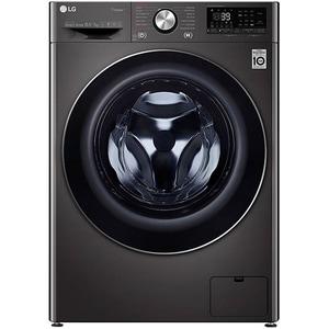 Masina de spalat rufe frontala cu uscator LG F4DV910H2S, 6 Motion, Wi-Fi, 10.5/7kg, 1400rpm, Clasa A, negru