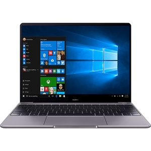 "Laptop HUAWEI MateBook 13, Intel Core i5-8265U pana la 3.9GHz, 13"" IPS, 8GB, SSD 256GB, NVIDIA GeForce MX150 2GB, Windows 10 Home, gri"