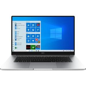 "Laptop HUAWEI MateBook D 15, AMD Ryzen 7 3700U pana la 4.0GHz, 15.6"" Full HD, 8GB, SSD 512GB, AMD Radeon Graphics, Windows 10 Home, argintiu"