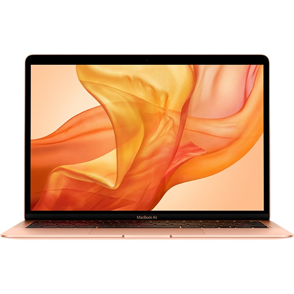 "Laptop APPLE MacBook Air 13 mvh52ze/a, Intel Core i5 pana la 3.6GHz, 13.3"" IPS Retina, 8GB, SSD 512GB, Intel Iris Plus Graphics, macOS Catalina, Gold - Tastatura layout INT"