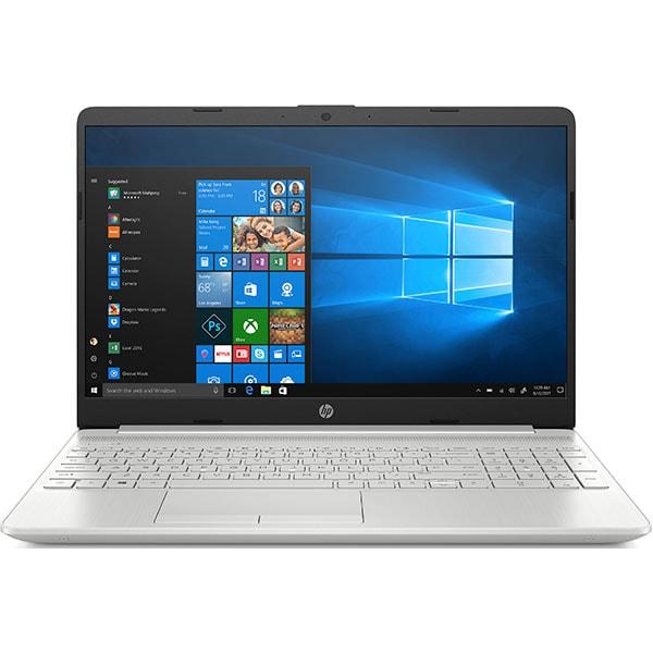 """Laptop HP 15-dw2010nq, Intel Core i5-1035G1 pana la 3.6GHz, 15.6"""" Full HD, 8GB, SSD 512GB, NVIDIA GeForce MX330 2GB, Windows 10 S, argintiu"""