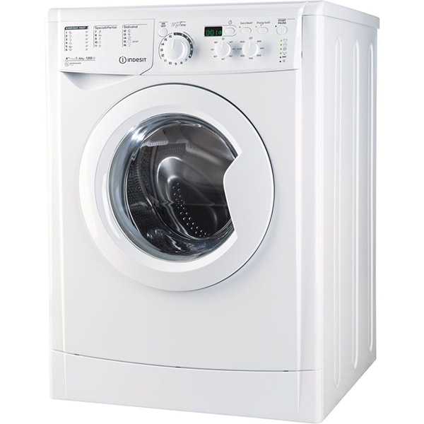 Masina de spalat rufe frontala INDESIT EWSD 61252 W EU, 6kg, 1200rpm, Clasa A++, alb