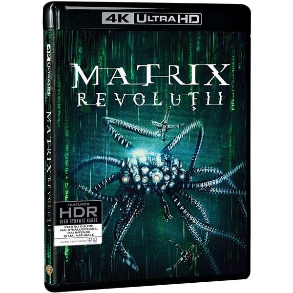Matrix Revolutii 4K UHD