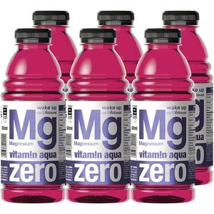 Apa cu vitamine MG ZERO VITAMIN AQUA Acai&Blackcurrant bax 0.6L x 6 sticle