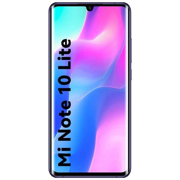 Telefon XIAOMI Mi Note 10 Lite, 128GB, 6GB RAM, Dual SIM, Nebula Purple
