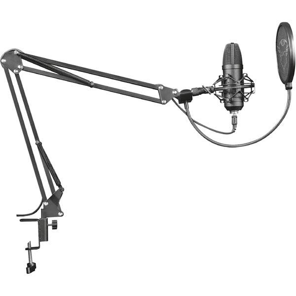 Microfon streaming TRUST GXT 252+ Emita Plus, USB, negru