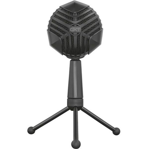 Microfon gaming TRUST GXT 248 Luno, USB, streaming, podcast, negru