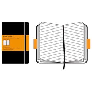 Carnet notite MOLESKINE Ruled Notebook, dictando, Large, 120 file, negru