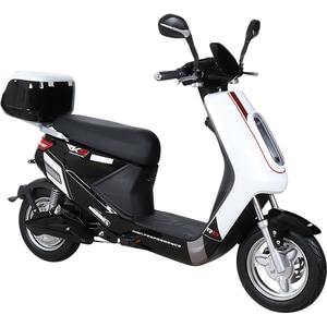 Moped electric RKS R8 14 inch, alb