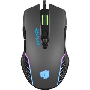 Mouse Gaming FURY Hustler, 6400 dpi, negru