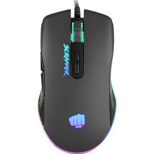 Mouse Gaming FURY Scrapper, 6400 dpi, negru