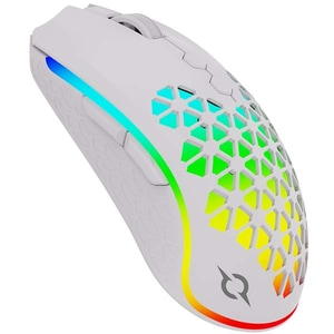 Mouse Gaming Wireless AQIRYS Polaris, 16000 dpi, alb