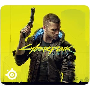 Mouse Pad SteelSeries QcK Large Cyberpunk 2077 Edition