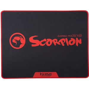 Mouse Pad Gaming MARVO G18, design Scorpion, negru-rosu