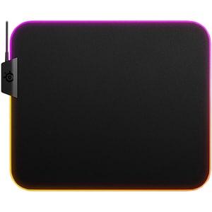 Mouse Pad Gaming STEELSERIES QcK Prism Cloth M, RGB, PC/MAC, negru