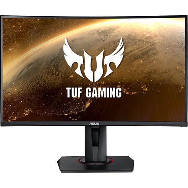 """Monitor Gaming curbat LED VA ASUS TUF VG27WQ, 27"""", WQHD, 165Hz, FreeSync, negru"""