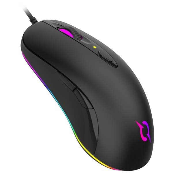 Mouse Gaming AQIRYS Orion, 16000 dpi, negru