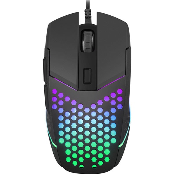 Mouse Gaming FURY Battler, 6400 dpi, negru