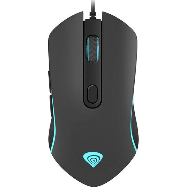 Mouse Gaming NATEC Genesis Krypton 150, 2400 dpi, negru